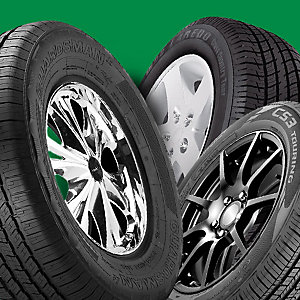 Hit the road | Extra 10% off all tires from brands like Michelin, Cooper, Goodyear & more