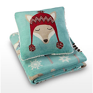 Give the gift of cozy | Pillow & throw gift sets, $9.99