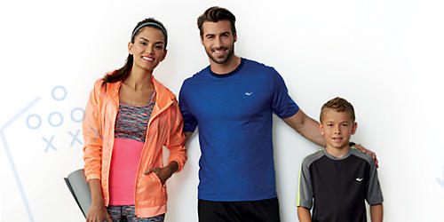 Regular & sale priced extras, plus $9.99 activewear