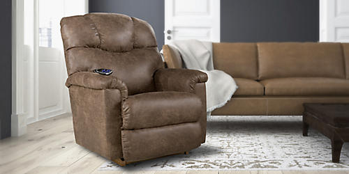 Save 50% on recliners & get an extra $50 off with code: SAVE50