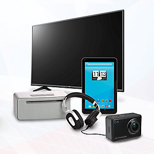 Up to 25% off featured HDTVs & electronics