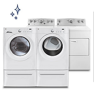Up to 30% off washers & dryers