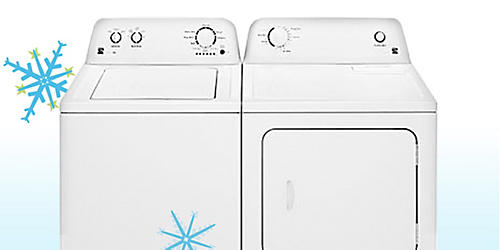 Kenmore HE washer & electric dryer on sale