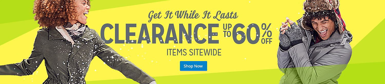 Get It While It Lasts | CLEARANCE UP TO 60% ITEMS SITEWIDE | Shop Now