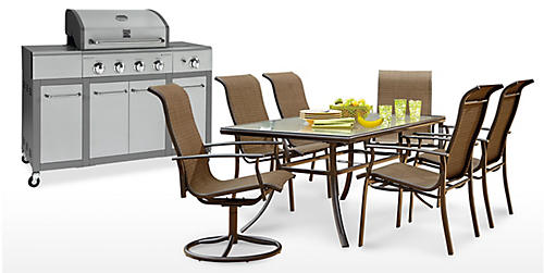 Extra 10% off patio furniture, grills & outdoor décor already on sale
