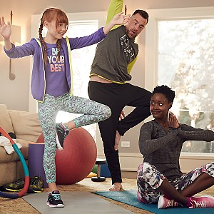 Buy one, get one 50% off activewear. Mix & match styles for the whole family