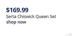 Serta Chiswick $169.99 Queen Set