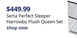 Serta Perfect Sleeper Harrowby Plush $449.99 Queen Mattress