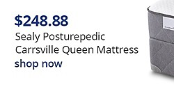 Sealy Posturepedic Carrsville Queen Mattress $248.88