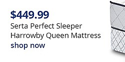 Serta Perfect Sleeper Harrowby Queen Mattress $449.99