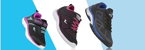 Buy one, get one 50% OFF  Athletic Shoes & Activewear for the family