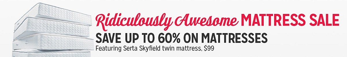 Ridiculously Awesome MATTRESS SALE