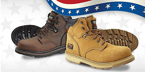 $99.99 sale on Timberland PRO Steel Toe Pit Boss work boots. Plus, members earn $10 in points when buying a second pair of work boots or shoes