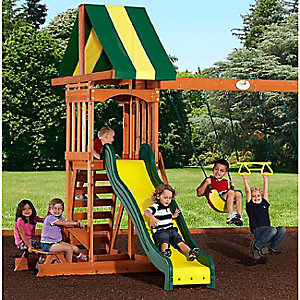 Up to 30% off swings, trampolines and outdoor playsets