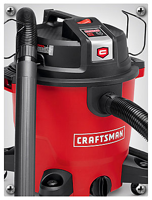 Sale $69.99 | reg. $89.99 Craftsman XSP 12-gallon 5.5 peak HP wet/dry vac