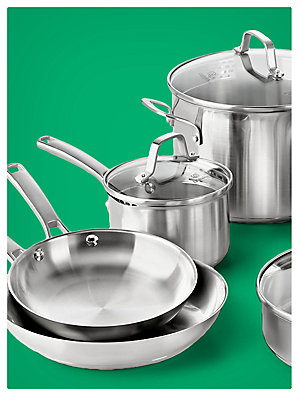 Up to 25% off cookware sets featuring Calphalon 10-pc. stainless steel cookware set, $199.99 | reg. $249.99