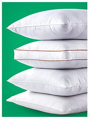 Up to 30% off pillow & mattress pads. Big Fab Find jumbo pillows, sale $4.99