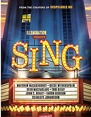 Sing on DVD, $17.99