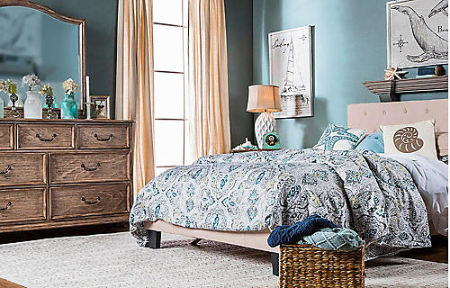 Save up to 25% on furniture | Featuring Furniture of America Harmen bed, starting at $199.99