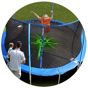 Sportspower 12' Outdoor Lighted Trampoline