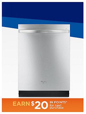 Up to 35% off Dishwashers Whirlpool dishwasher Sale $499.99 | reg. $699.99
