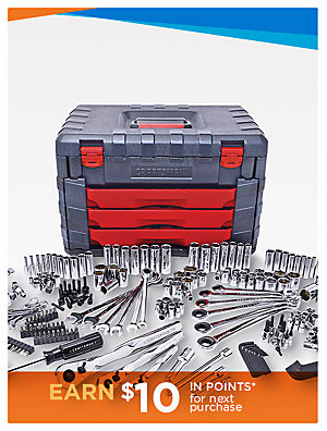 15-50% Off Must Have Tools  Craftsman 254-pc. Mechanics Tool Set  sale $189.99 | reg $299.99