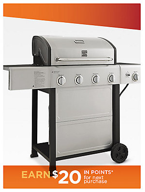 Up to 20% off grills