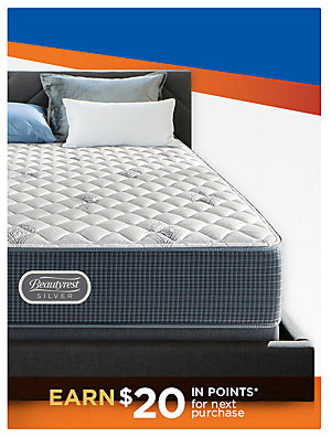 Save 50 - 60% on top brands  featuring Beautyrest Silver Wavecrest $697.49 Queen Set Reg 1599.99