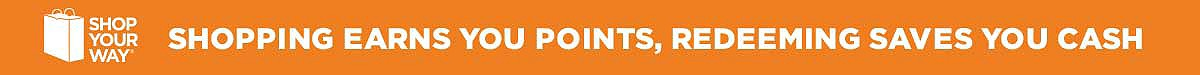 Shopping Earns you Points, Redeeming saves you cash