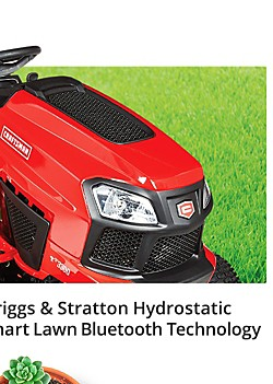 "Craftsman 42"" 20 HP V-Twin Briggs & Stratton 90th anniversary auto riding mower $1,699.99 