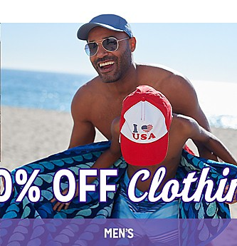 30% Off Men's Clothing