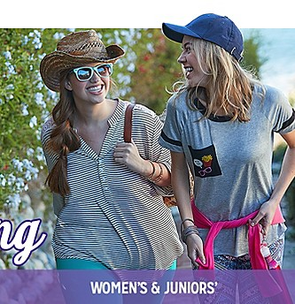 30% Off Women's & Juniors' Clothing