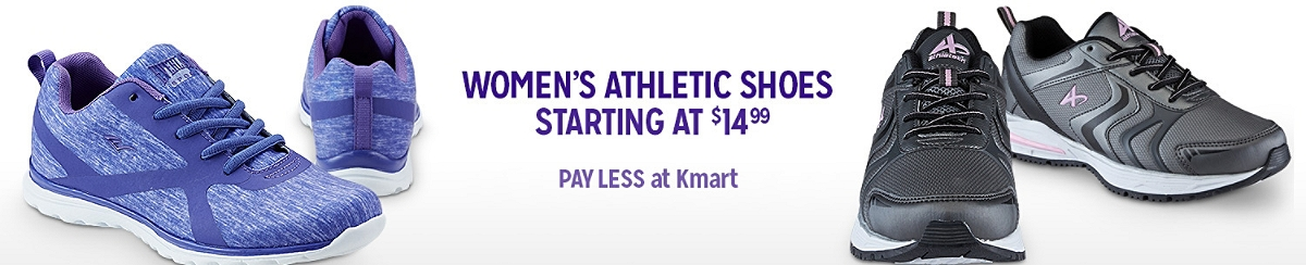 Women's Athletic Shoes Starting at $14.99 | LOWEST PRICES of the Season!