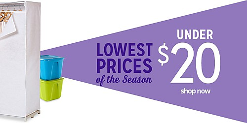 UNDER $20 SHOP NOW | LOWEST PRICES of the Season