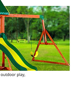 All Outdoor Play, Swing sets, and Trampolines On Sale  up to 40% off
