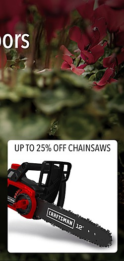 Up to 25% off Chain Saws
