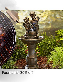 Fountains 30% Off