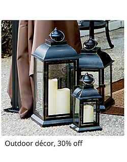 Outdoor Decor 30% Off