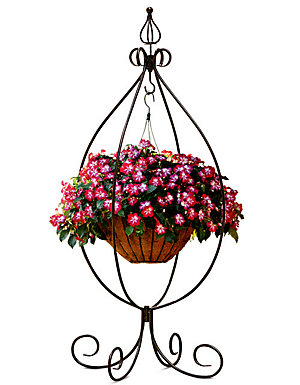 Love your mother earth | Hanging plant stand, $9