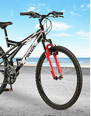 "20% off bikes | Celebrate National Bike Month | Pacific Evolution 26"" bikes, $79.99"