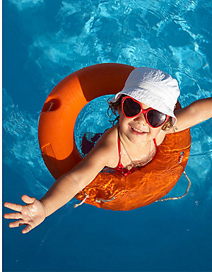 "Up to 40% off outdoor play |  Save $200 on the Intex 20' x 48"" Ultra Frame® Pool"