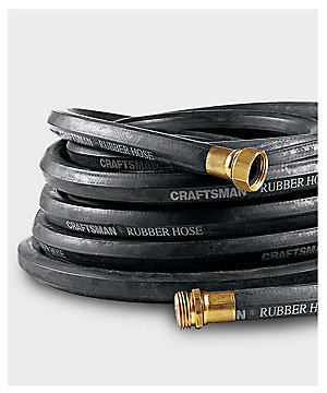 "Craftsman 5/8"" x 50' All-Rubber Garden Hose"