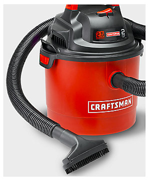 Craftsman Portable Wall-Mount 2.5 Gallon 2 Peak HP Wet/Dry Vac