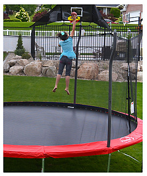 15' Trampoline with enclosure/anchor kit