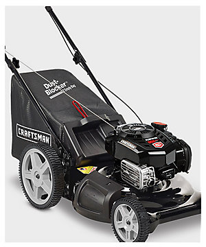 "Craftsman 163cc Briggs and Stratton Engine 21"" 3-In-1 Lawn Mower w/ High Rear Wheels $249.99 