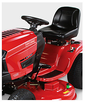 "Craftsman 46"" 547cc Auto Riding Mower $1299.99   reg. $1639.99"