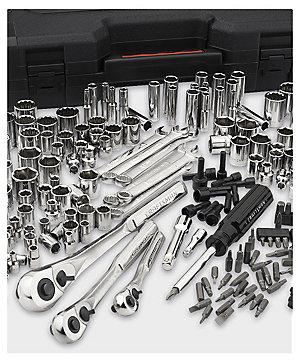 Craftsman 230 pc. silver finish standard & metric mechanic's tool set $99.99   reg. $199.99