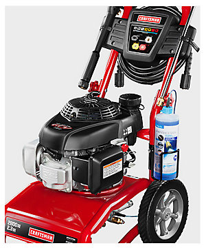 Craftsman 2800psi 2.3 GPM Gas Powered Pressure Washer $299.99   reg. $379.99