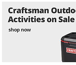 Craftsman Outdoor Activities On Sale