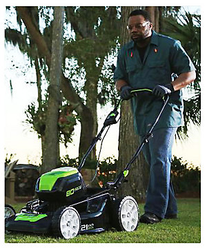 Up to 30% off on Greenworks Lawn & Garden With Free Shipping